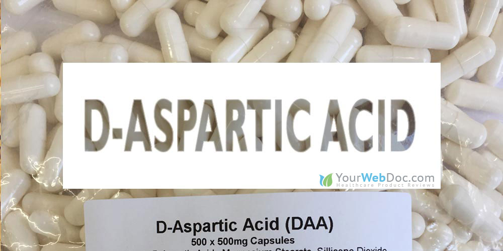 D-aspartic acid for Sperm Production